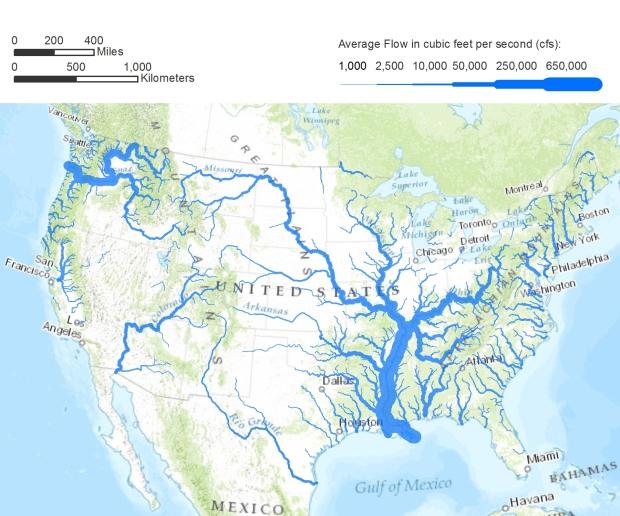 America_rivers