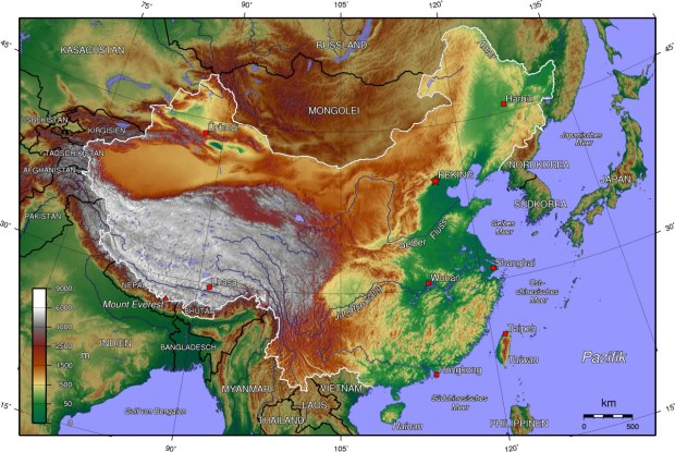 Topographic-map-of-China-2005