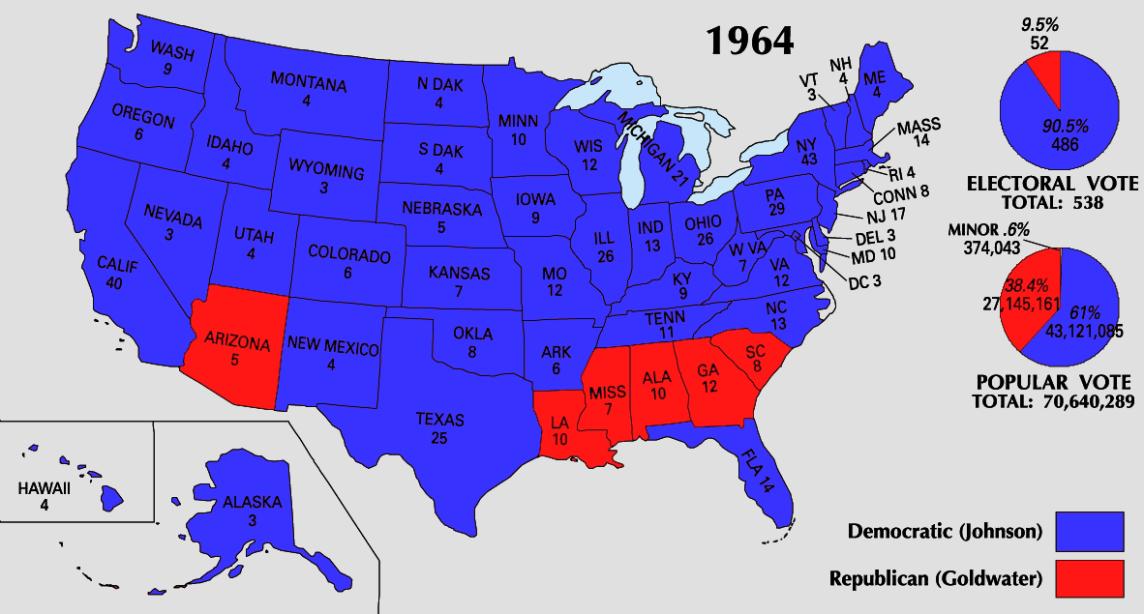 1964_Electoral_Map