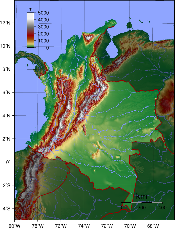 Colombia_Topography_2