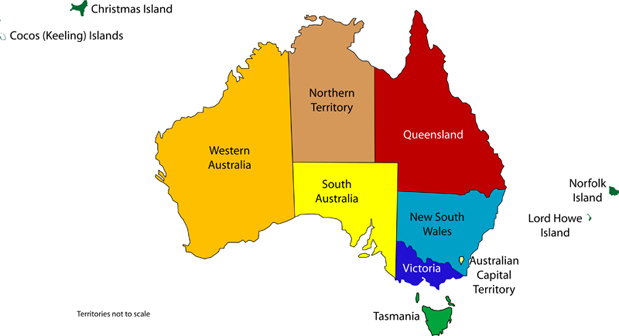 Australian-States