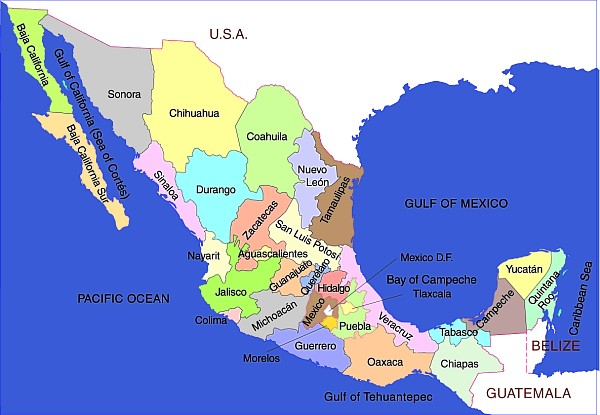 mapmexicobasic