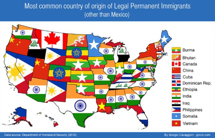 US Legal Immigration — Image of the Day | Future Economics