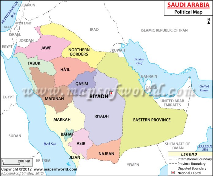saudi-arabia-political-map