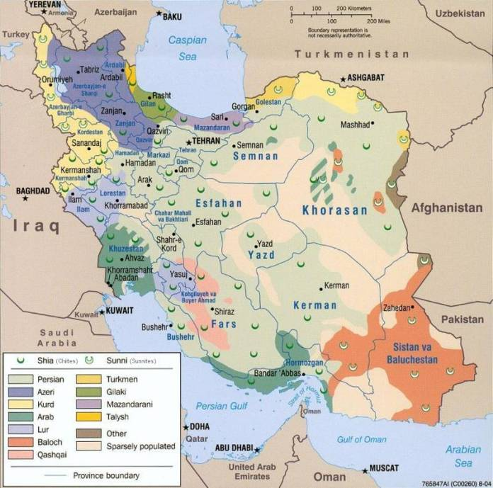ethnic-iran-map