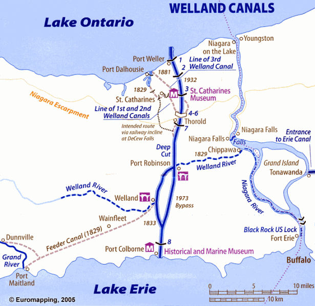 LR Welland Canal Map
