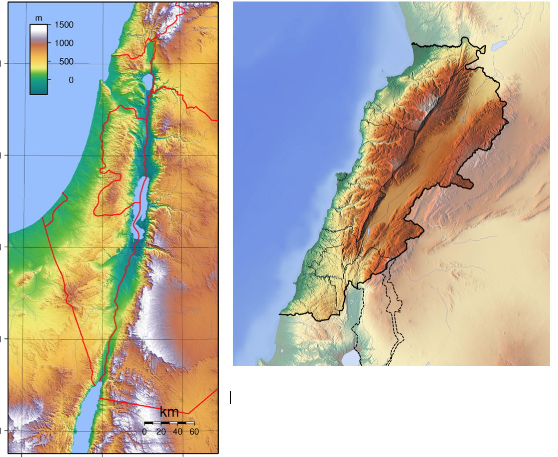 israel and lebanon topography.png