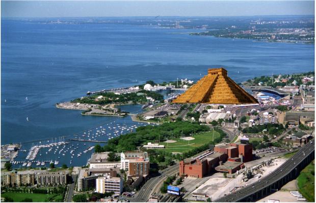 toronto ziggurat exhibition
