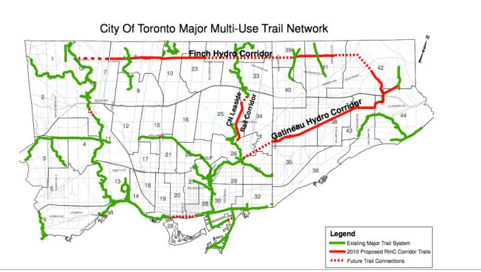 hydro corridor map